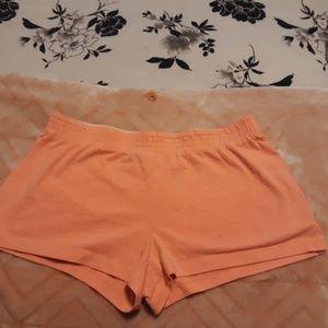 Cute peach shorts